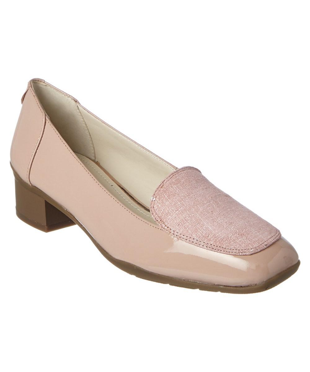 1a84ef4284c Lyst - Anne Klein Daneen Patent Loafer
