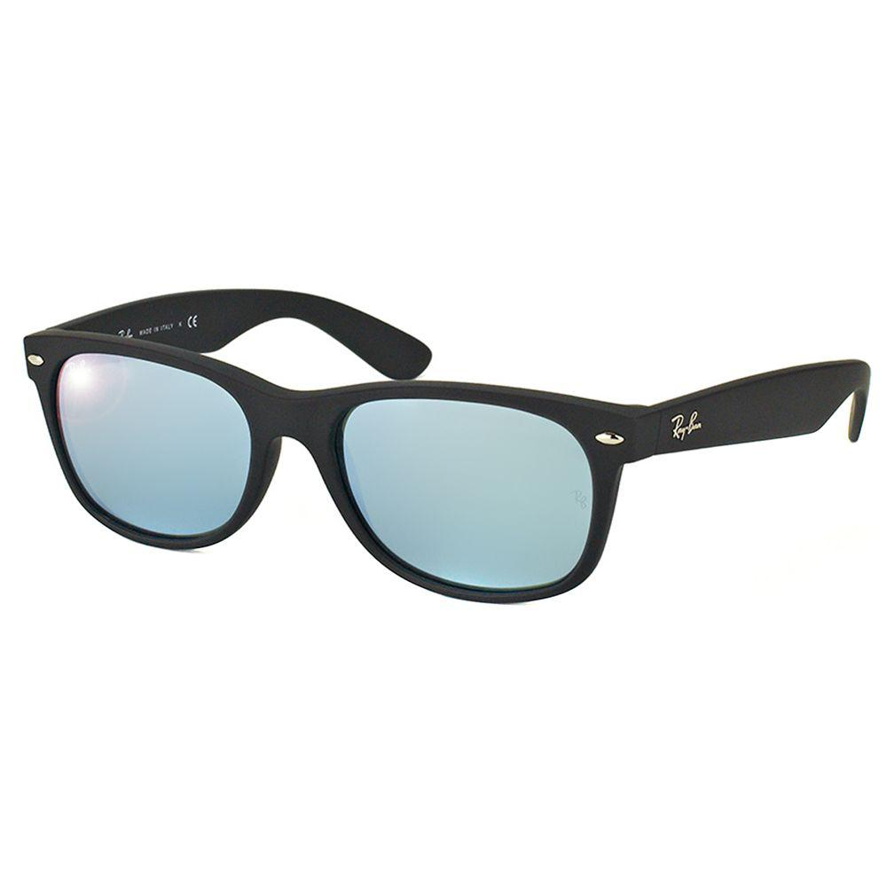 bb2f0a7691 Ray-Ban. Women s New Wayfarer Rb 2132 622 30 55mm Black Rectangular  Sunglasses