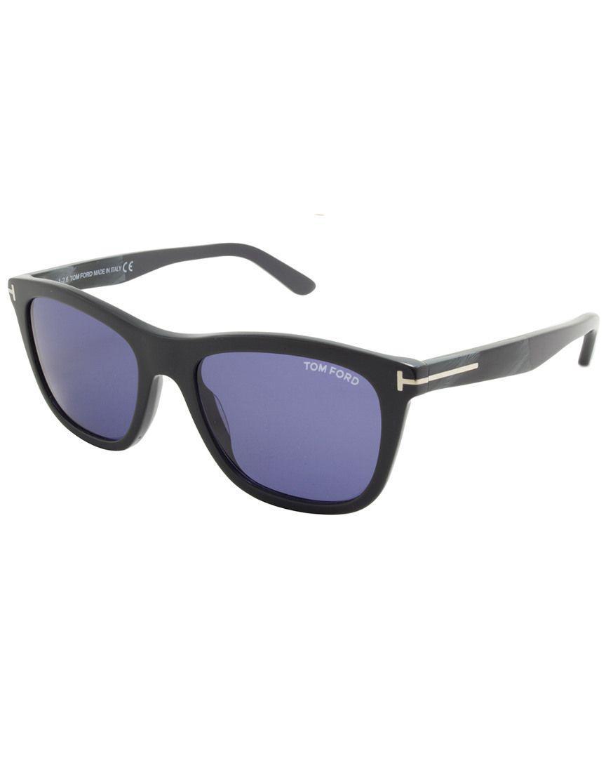 d8167d57a8f Tom Ford - Blue Men s Tf0500-20v 54mm Sunglasses - Lyst. View fullscreen
