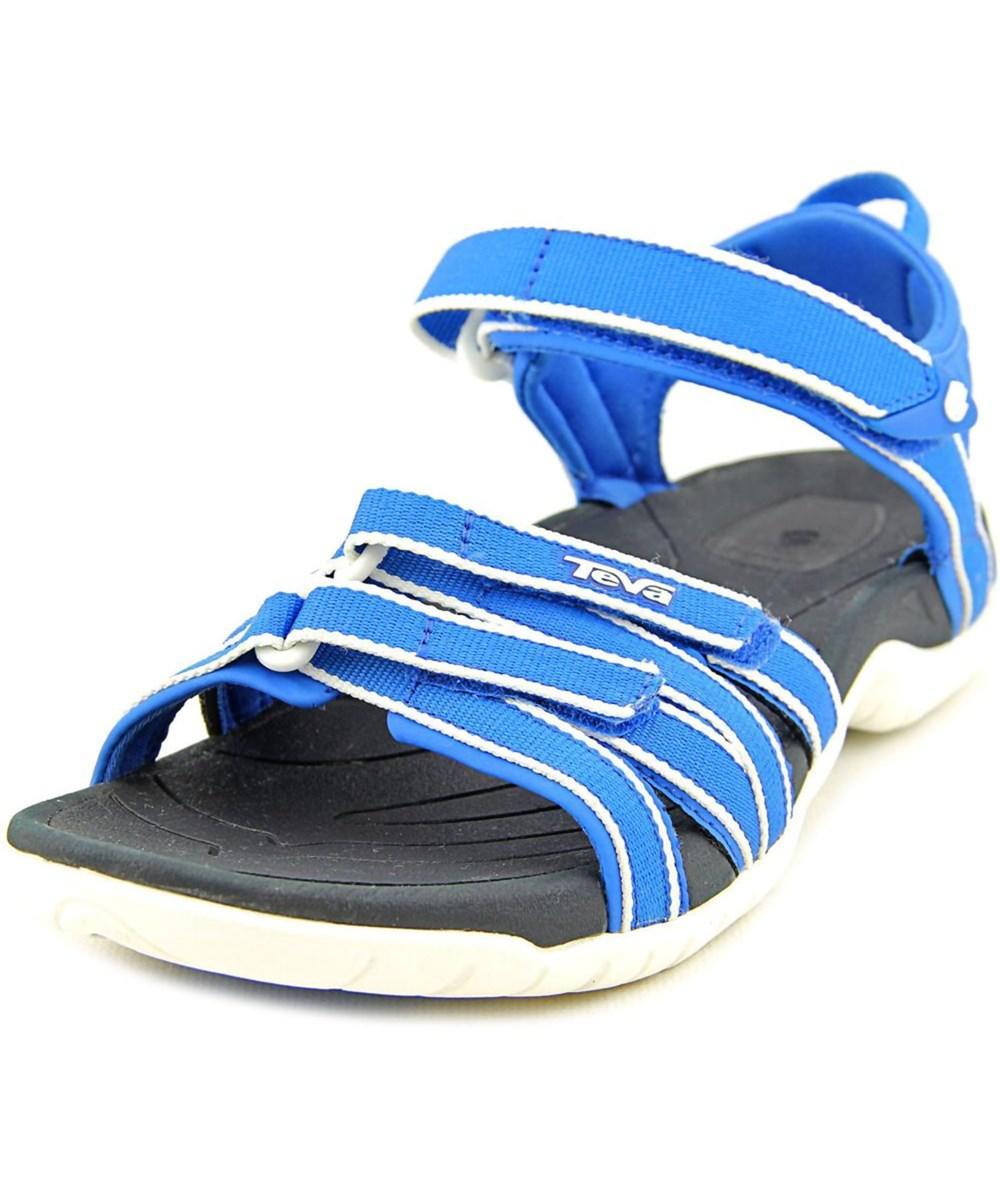 6267ae86ca5a Lyst - Teva Tirra Women Open-toe Canvas Blue Sport Sandal in Blue