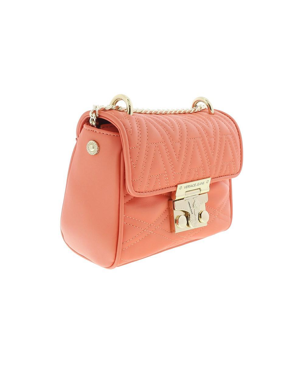 46550f9a76 Versace Jeans Ee1vrbby5 Coral Shoulder Bag in Orange - Lyst