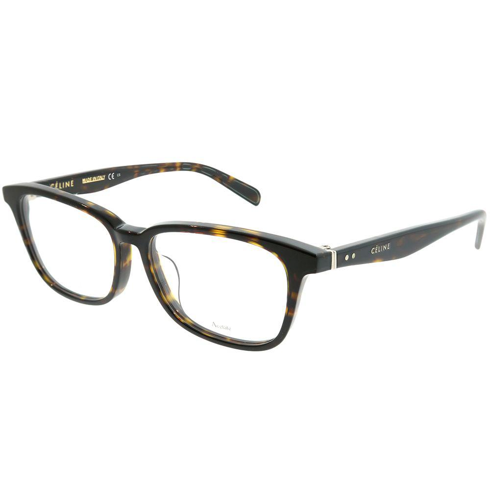 5c1e8280fe3 Céline. Women s Brown Asian Fit Cl 1020 f 086 Dark Havana Round Eyeglasses