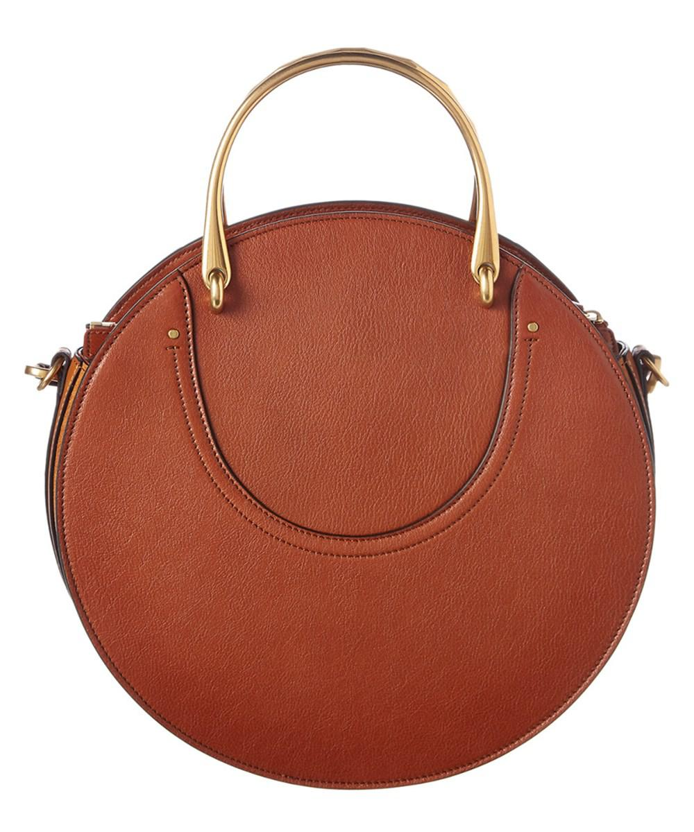 Lyst - Chloé Pixie Small Leather Shoulder Bag in Brown 37f4afa269