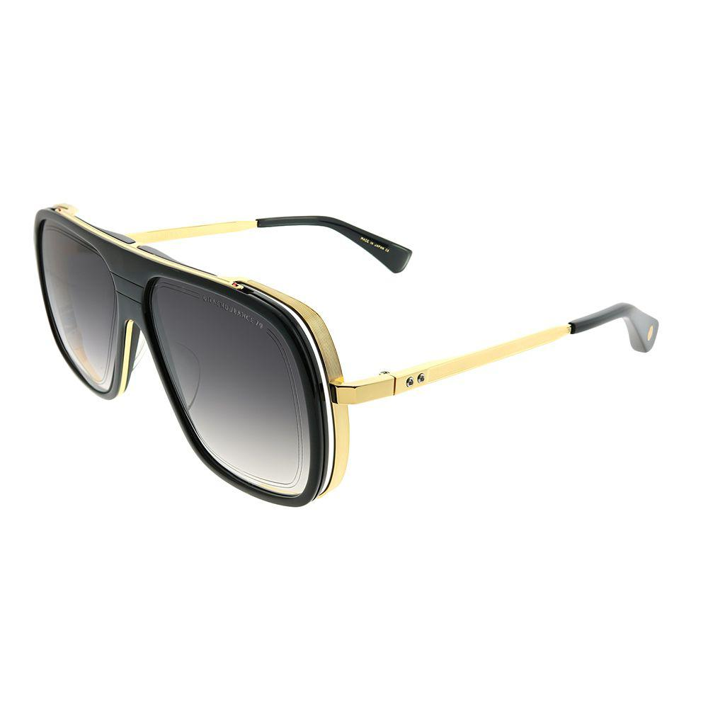 1c2b6eee3c1 Lyst - Dita Endurance 79 Black - Yellow Gold Aviator Sunglasses in Black
