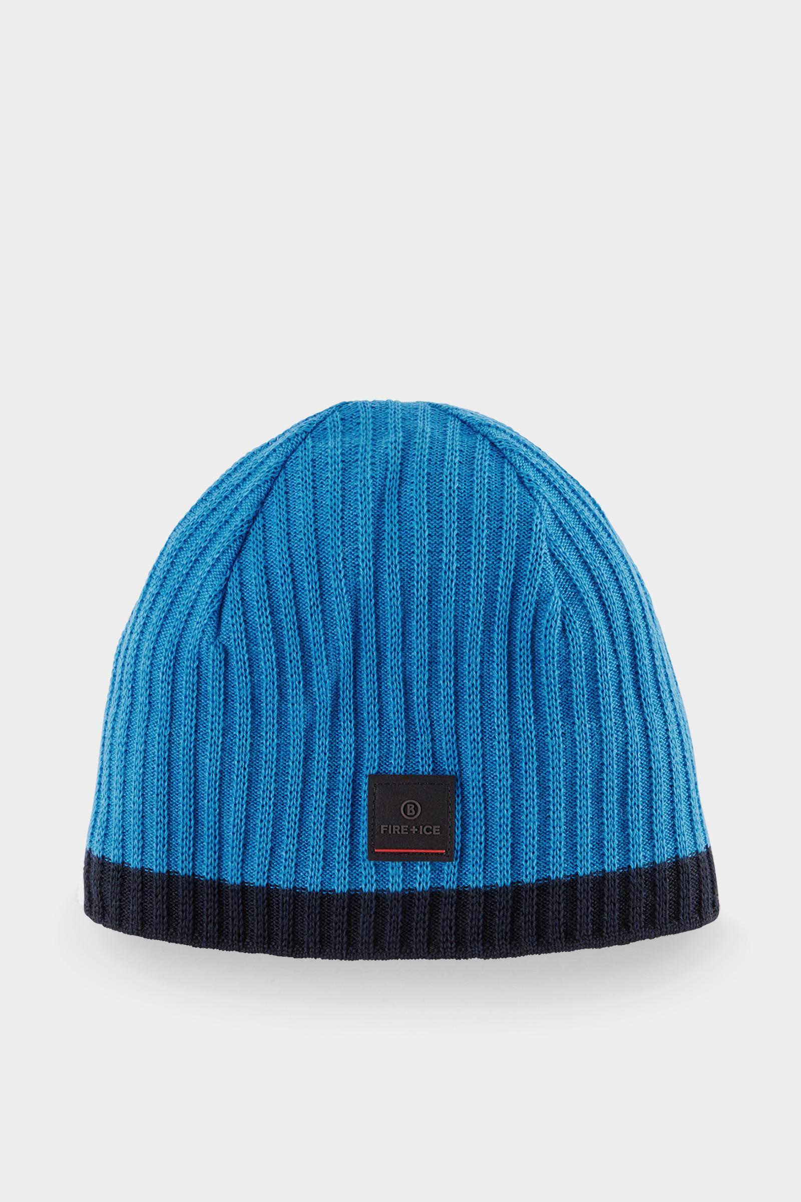 ac0334dd6e7 Lyst - Bogner Vidal Knitted Hat In Light Blue in Blue for Men