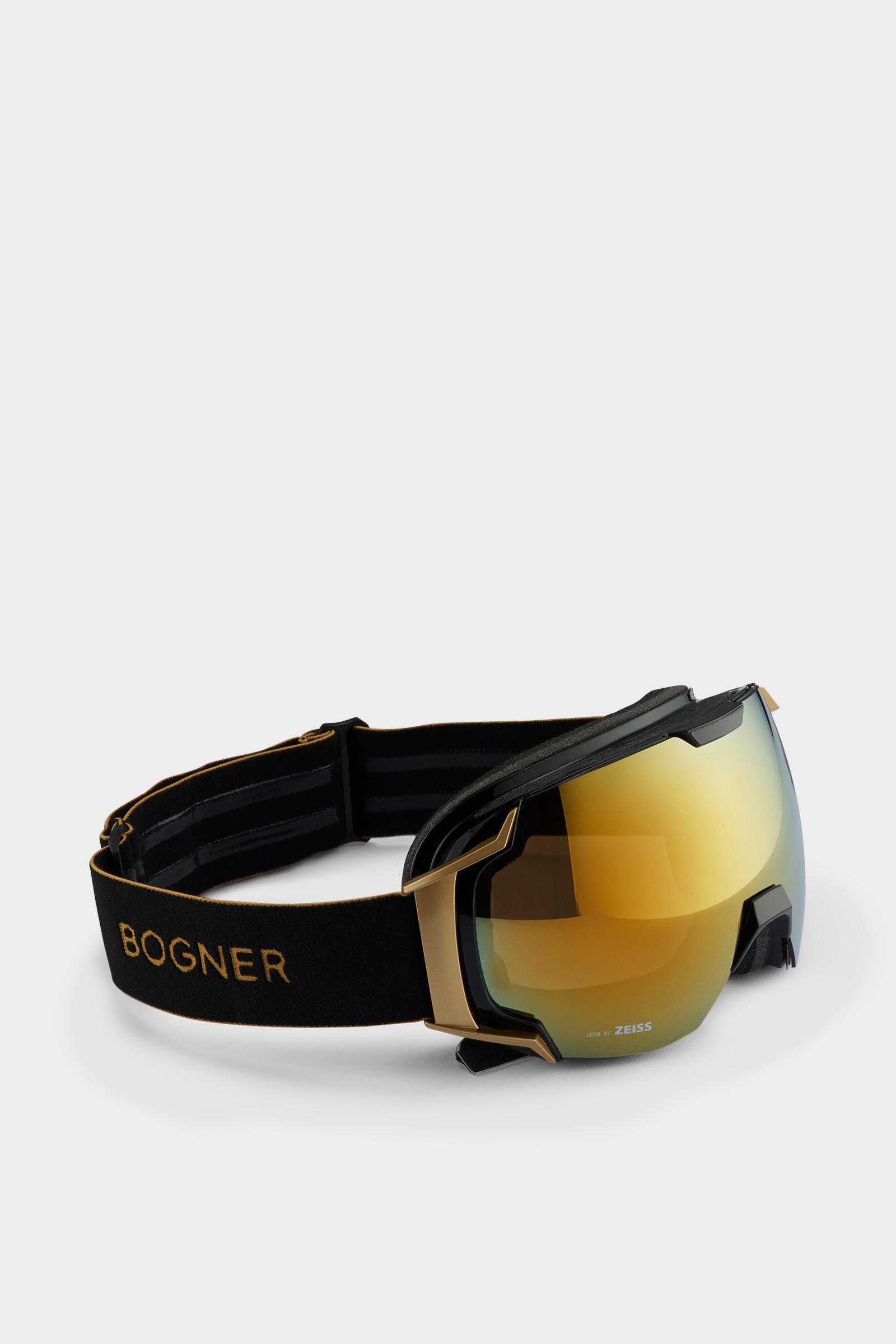 e39ea4d5540 Bogner - Metallic Just-b Gold Ski goggles In Black for Men - Lyst. View  fullscreen