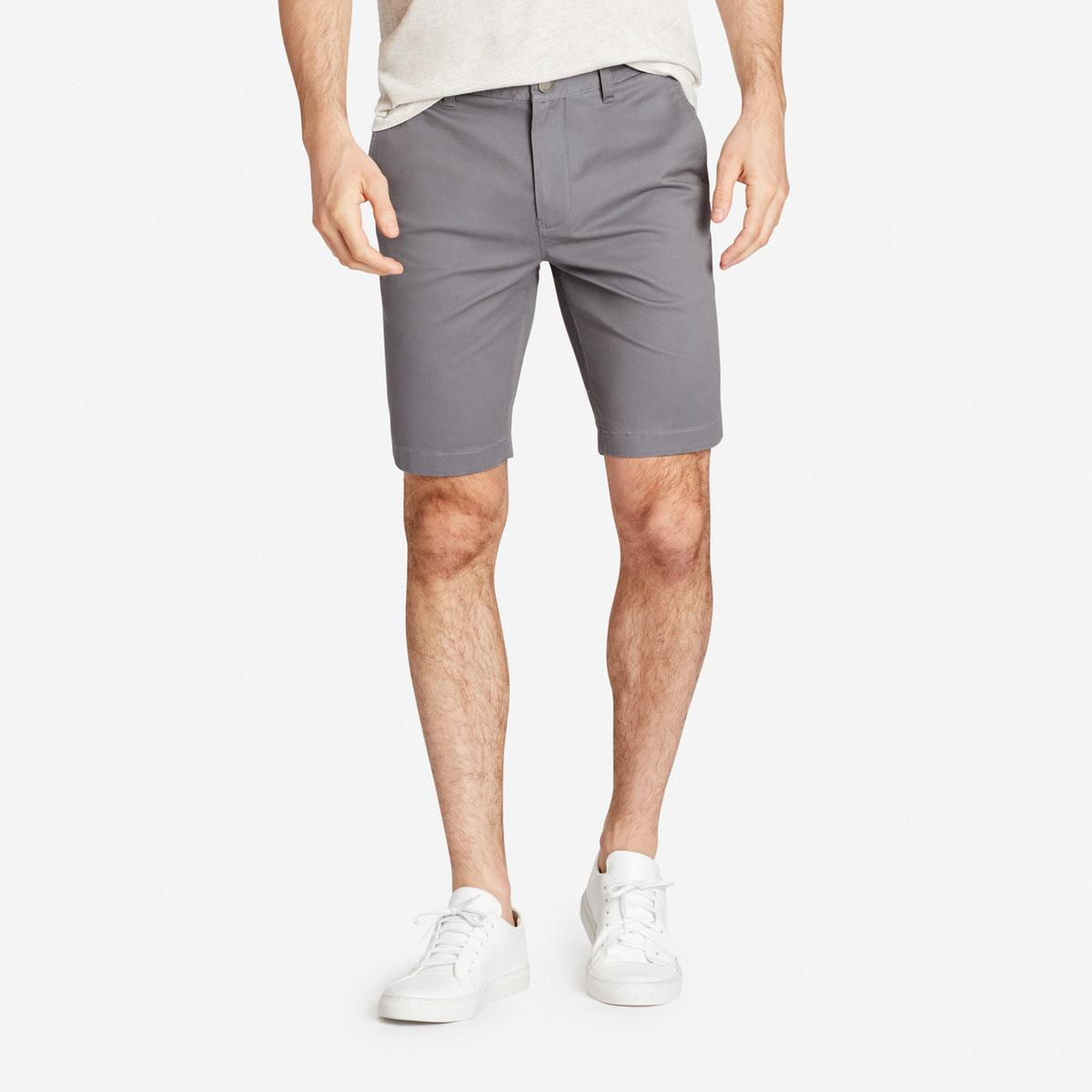 ee77137083 Bonobos Slim Stretch Washed Chino Shorts in Gray for Men - Lyst