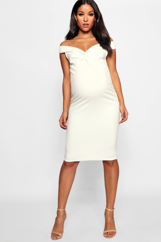 aa9f7f0421495 Boohoo Maternity White Dresses – DACC