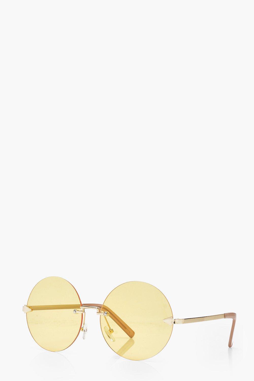 Hannah Frameless Round Sunglasses ETIfwITh