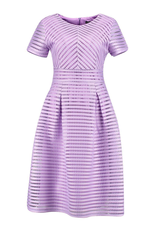 4c0fb9a2edd Boohoo - Purple Boutique Full Skirted Prom Midi Dress - Lyst. View  fullscreen