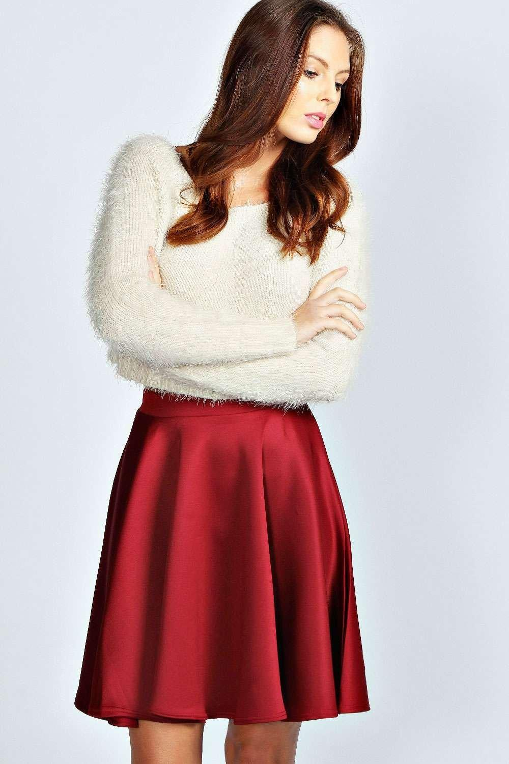 41f2e14f9 Gallery. Previously sold at: Boohoo · Women's Skater Skirts