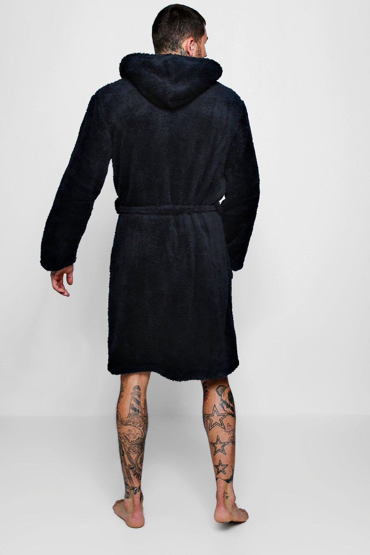 fd6c68feb0 Lyst - BoohooMAN Mens Shaggy Fleece Robe With Contrast Lining in ...