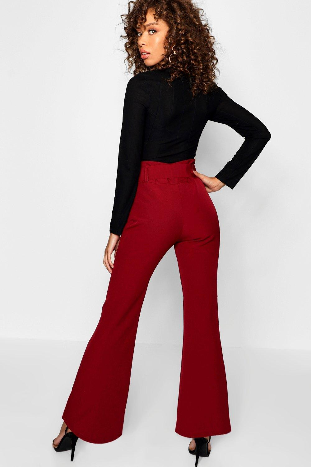 1435a5a7bd65 Boohoo - Multicolor Kick Flare Wide Leg Pants - Lyst. View fullscreen