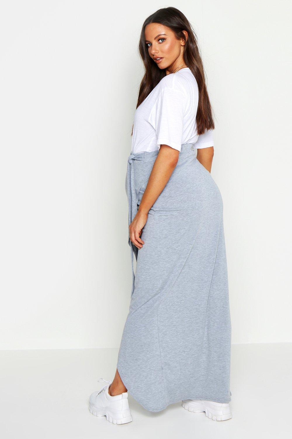4ce010f0f15fe ... Maternity Wrap Maxi Skirt - Lyst. View fullscreen