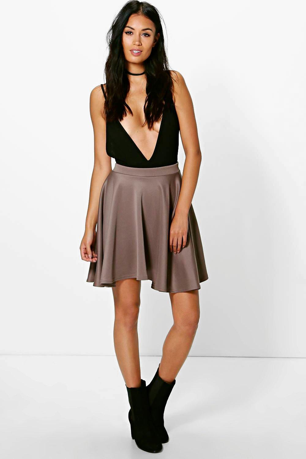598083a09 Gallery. Previously sold at: Boohoo · Women's Skater Skirts ...