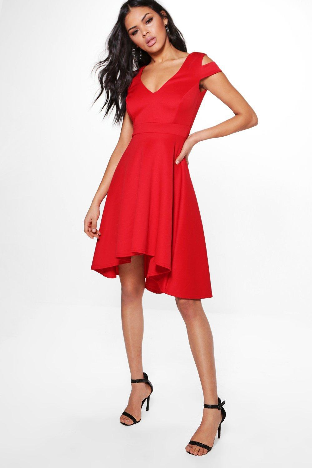5015831ff60e Gallery. Previously sold at: Boohoo · Women's Black Cocktail Dresses ...
