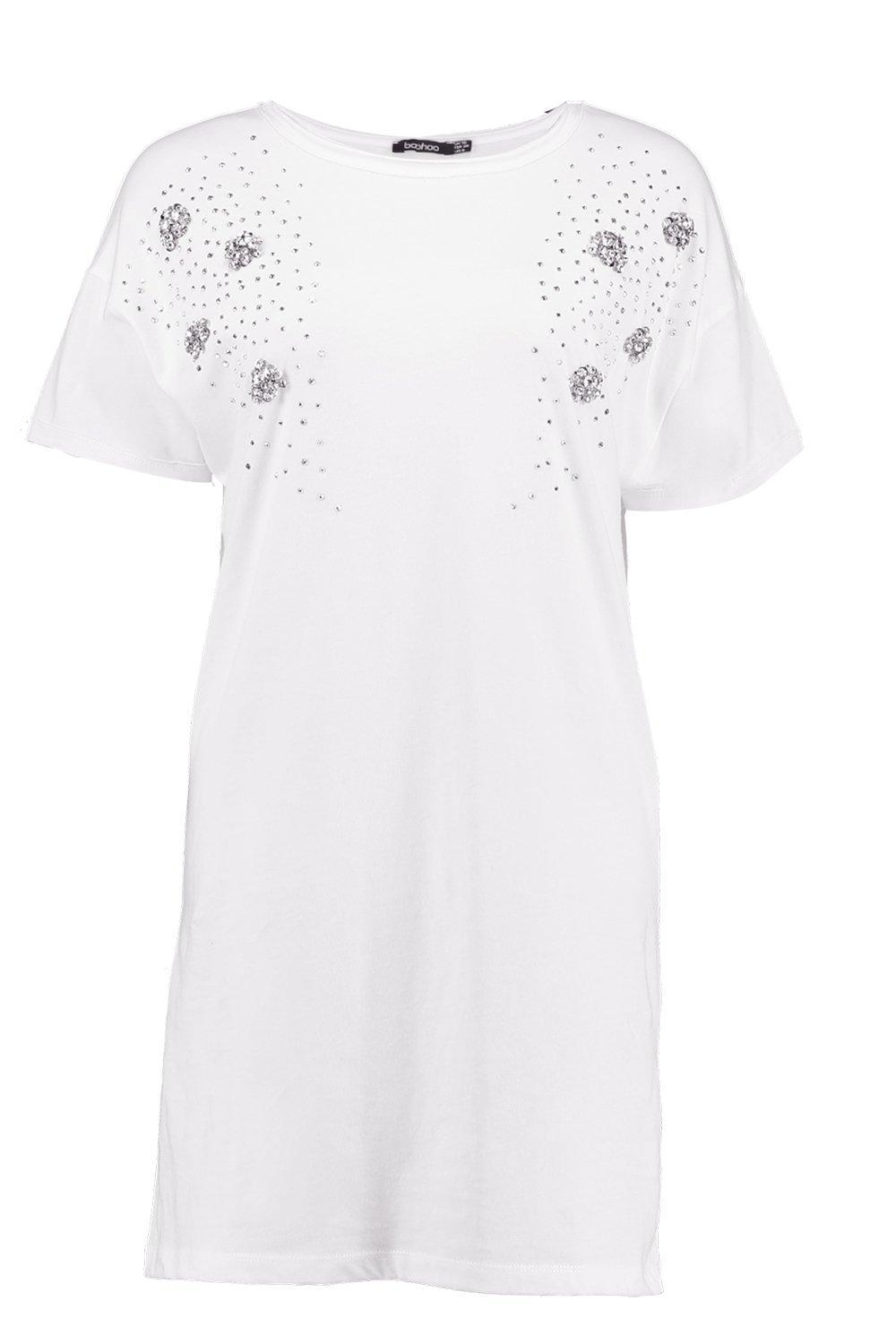 038934c08940 Gallery. Previously sold at: Boohoo · Women's T Shirt Dresses ...