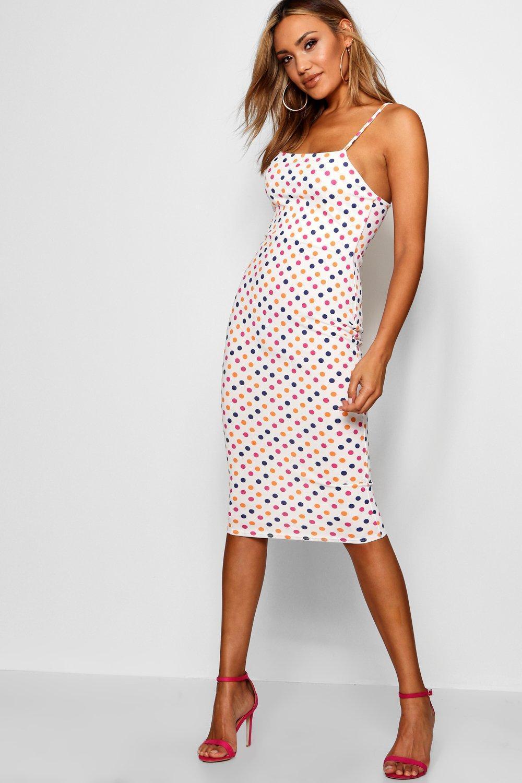 78324d53efa64 Gallery. Previously sold at: Boohoo · Women's Polka Dot Dresses