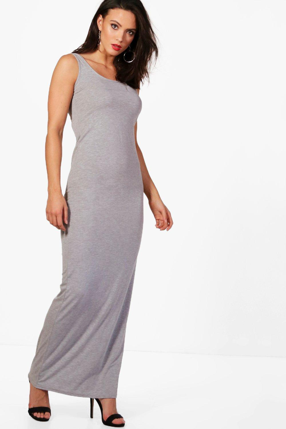 Boohoo Tall Basic Maxi Dress Outlet Manchester Fashion Style Cheap Online VqXUWIYOY