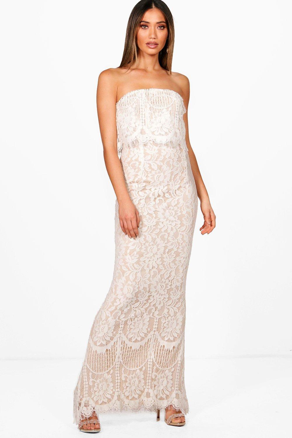 d1d049779ab902 Gallery. Previously sold at  Boohoo · Women s Bandeau Dresses ...