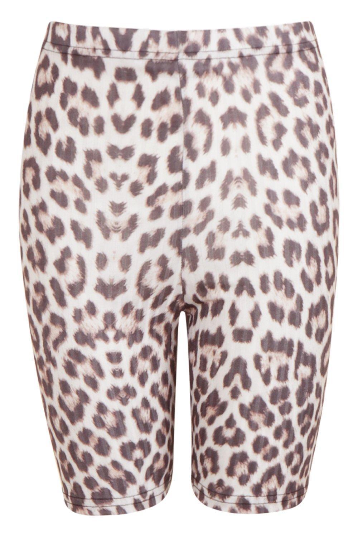 Lyst Cycle Short Boohoo Leopard Cycle Short Boohoo Boohoo Cycle Leopard Lyst Leopard Lyst dshrQt
