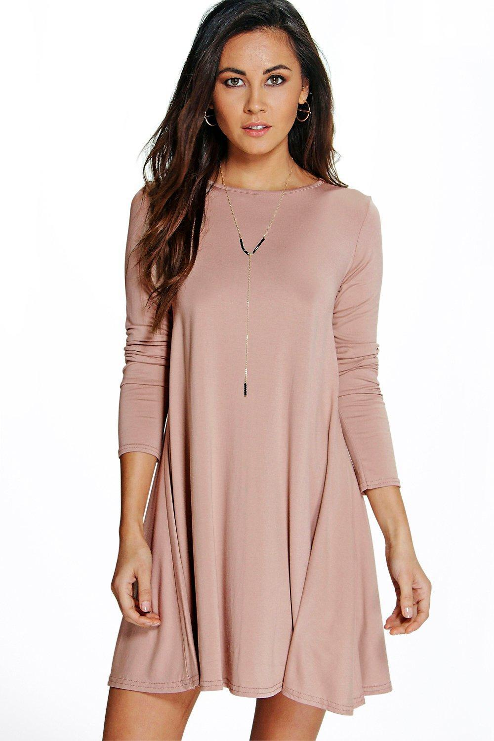 07d8ae16c66 Gallery. Previously sold at  Boohoo · Women s Swing Dresses ...
