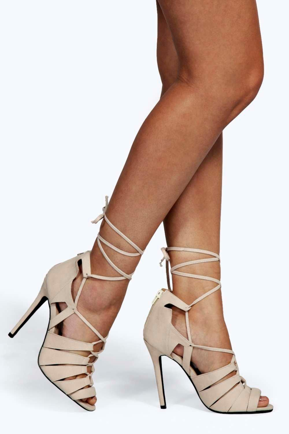 What Dresses Do Caged Shoes Go With