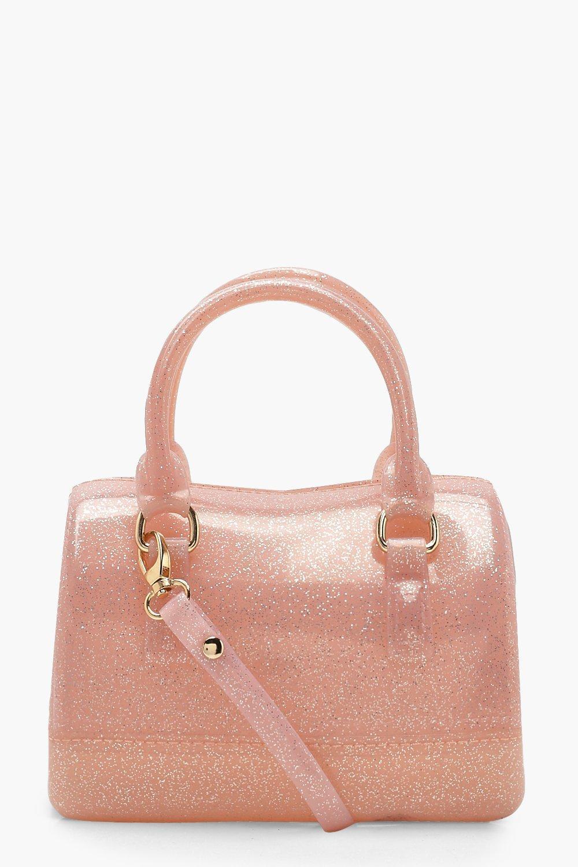 Boohoo Pink Glitter Mini Grab Bag Lyst View Fullscreen