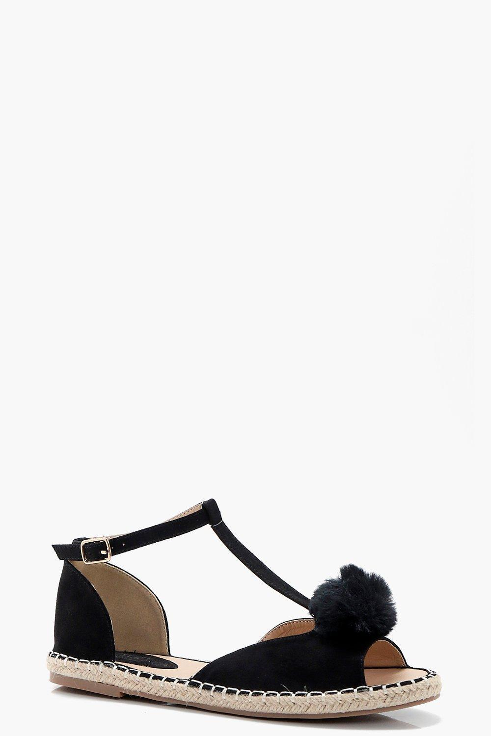 Gallery. Previously sold at: Boohoo · Women's Pom Pom Shoes ...