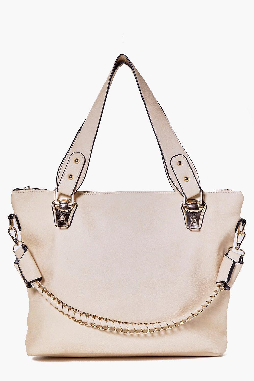 944013c8aa1 Lyst - Boohoo Ava Chain Strap Day Bag