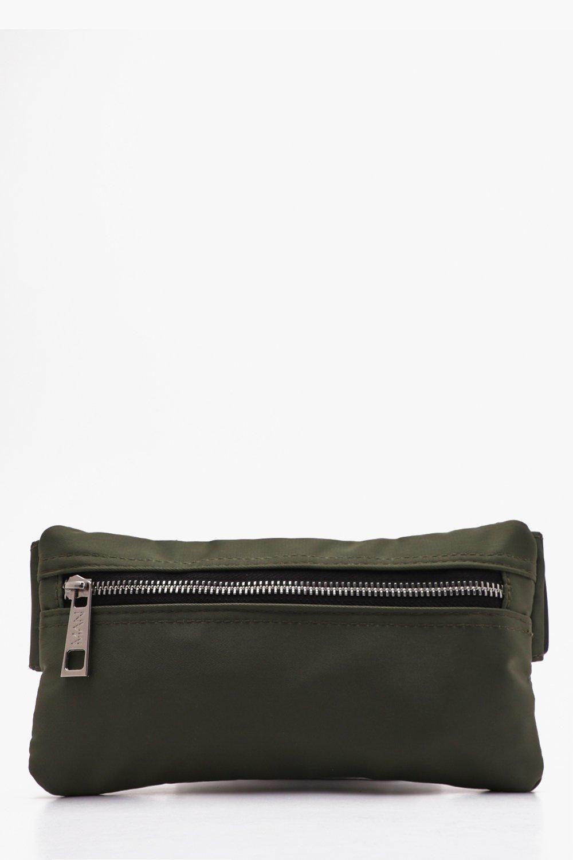 171eb2969ce5 BoohooMAN - Black Mini Man Branded Cross Body Bag for Men - Lyst. View  fullscreen