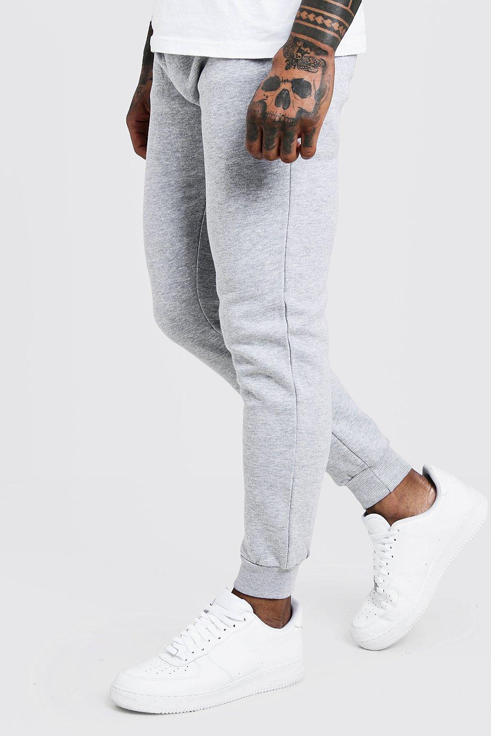 41a6fc64 Lyst - BoohooMAN Man Skinny Joggers in Gray for Men