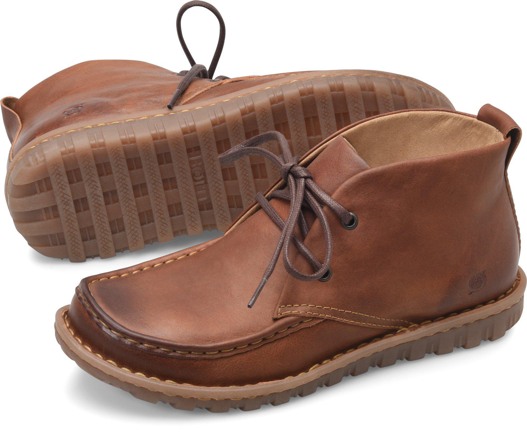 b4ebb2a72511e7 Lyst Børn Glenwood In Brown For Men. Doll Pink Born Shoes ...
