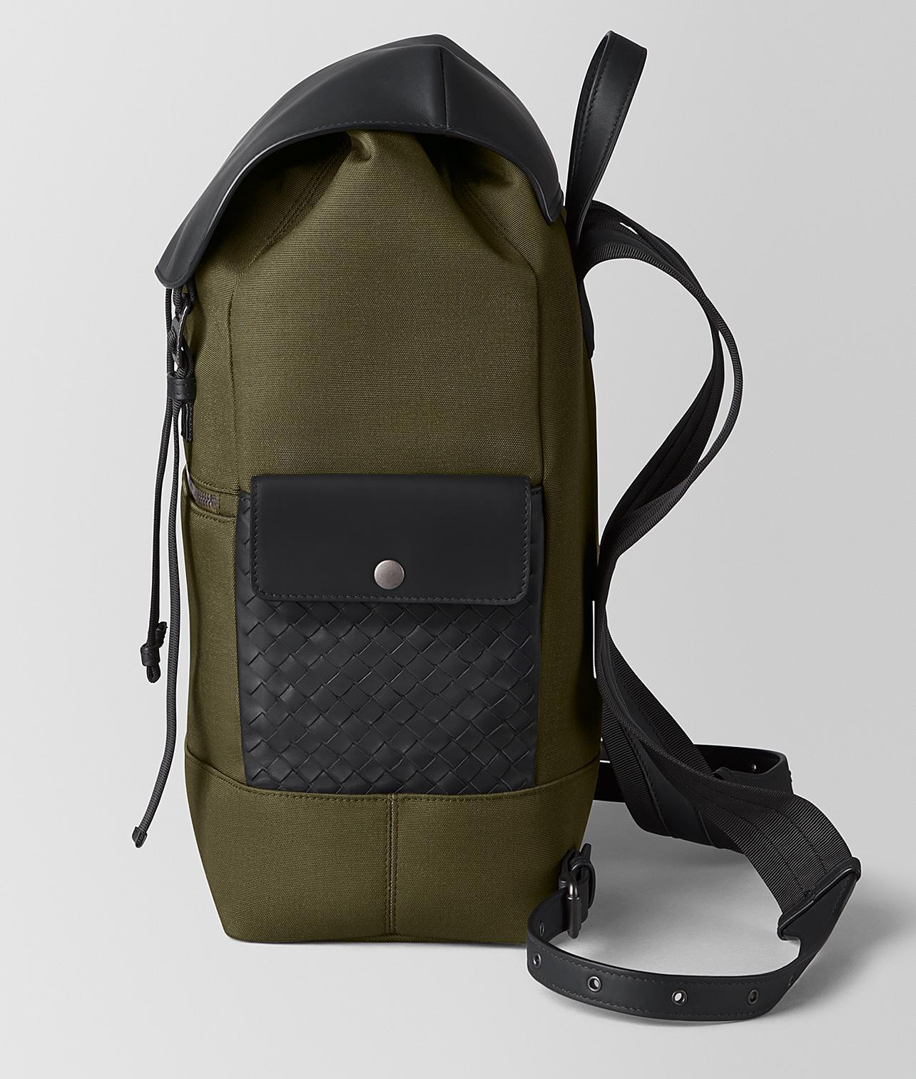 Lyst - Bottega Veneta Sassolungo Backpack In Hi-tech Canvas And Matte Calf  Leather for Men f5024301c5c5d