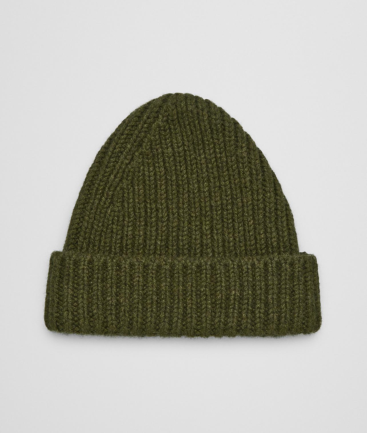 96c09546d83 Lyst - Bottega Veneta Hat In Cashmere in Green