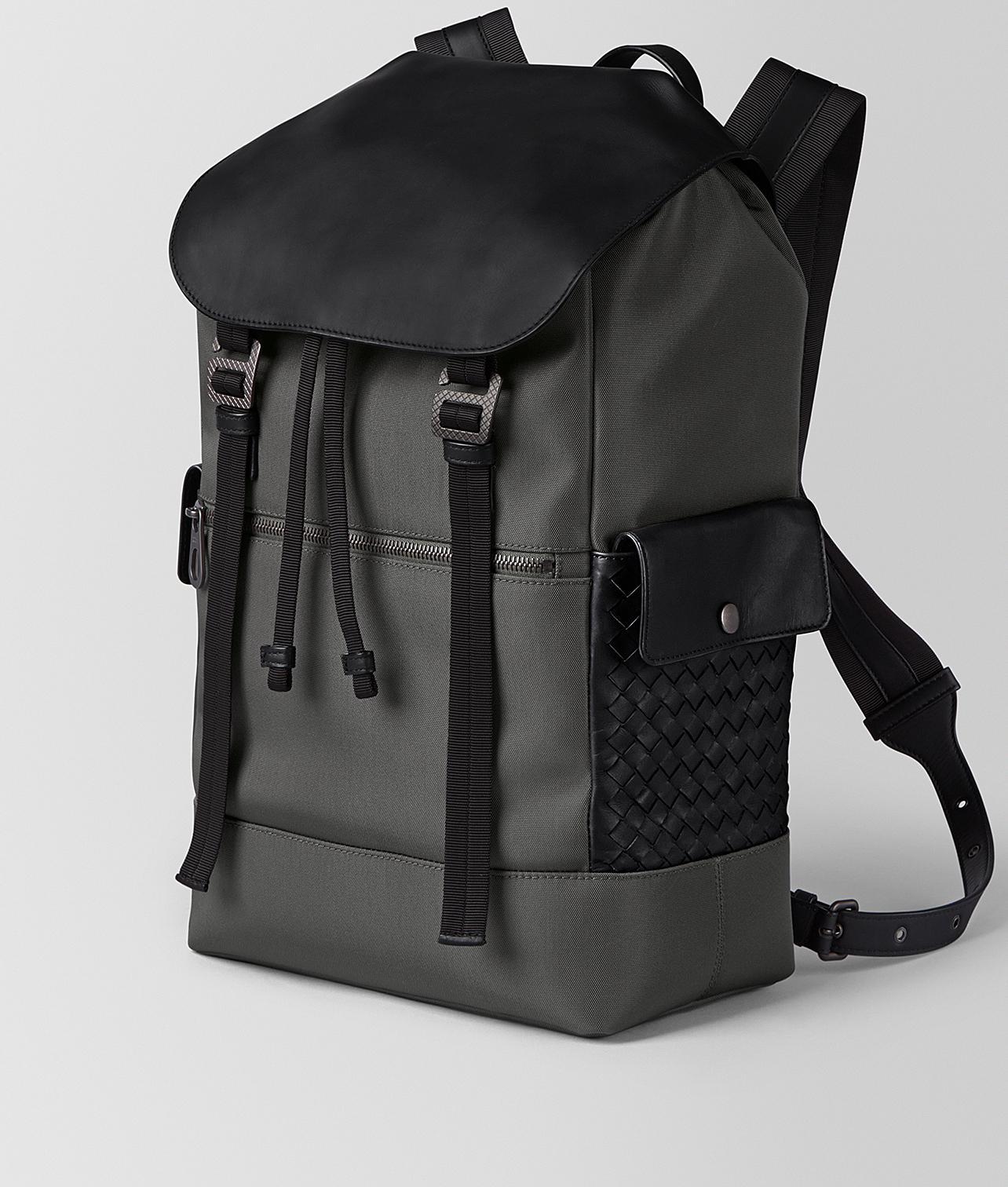 Lyst - Bottega Veneta Light Grey Hi-tech Canvas Sassolungo Backpack in Gray  for Men d4973f5150d45