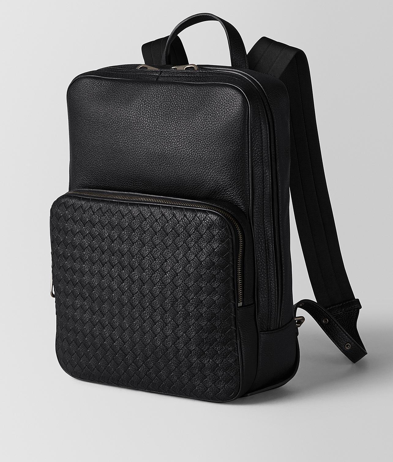 Bottega Veneta Nero Cervo Medium Double Brick in Black for Men - Lyst b35a1b12de273