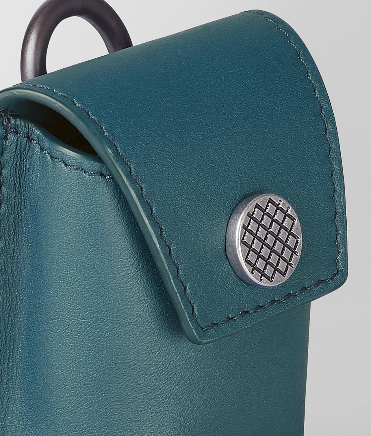 77cff17024c5 Lyst - Bottega Veneta Wireless Earbud Case In Intrecciato Vn in Blue for Men