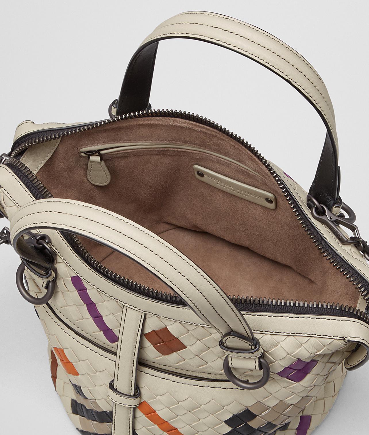 Lyst - Bottega Veneta Multicolor Nappa Intrecciato Abstract Tambura Bag 5773bc27ac3bc