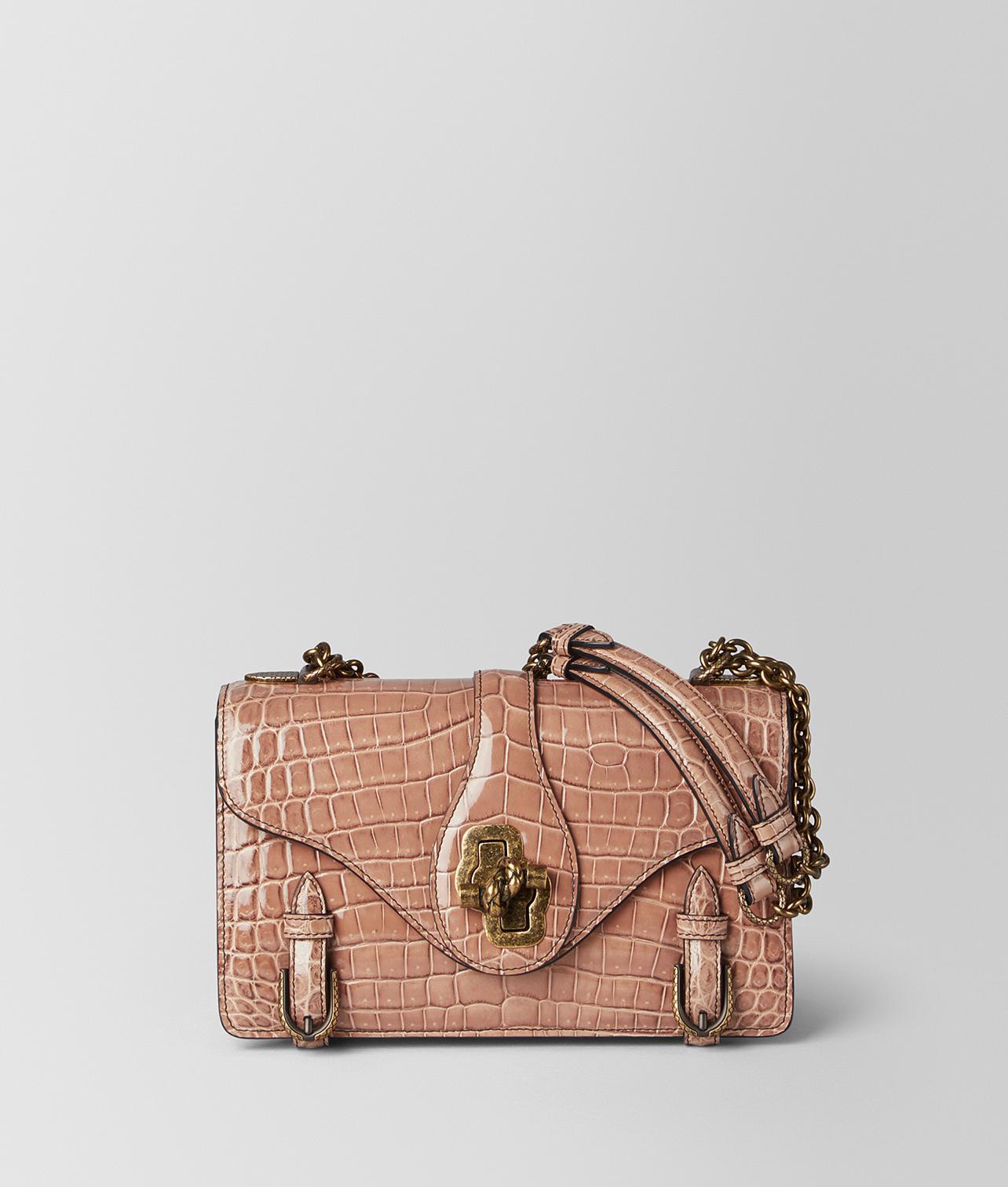 Bottega Veneta. Women s Dahlia Crocodile City Knot Bag a7f3143ab3650
