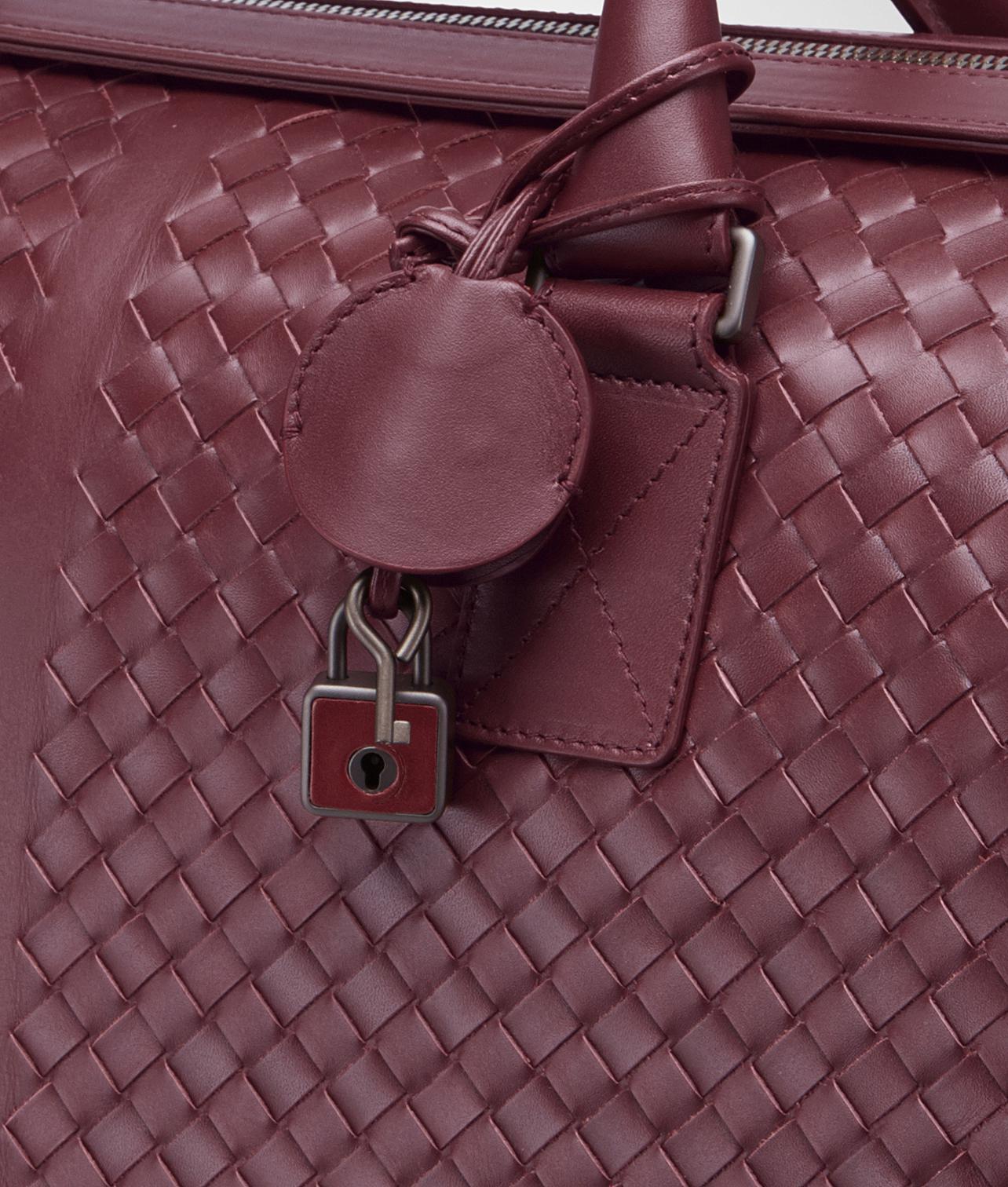 Lyst - Bottega Veneta Medium Duffle Bag in Purple 08d2deb021758