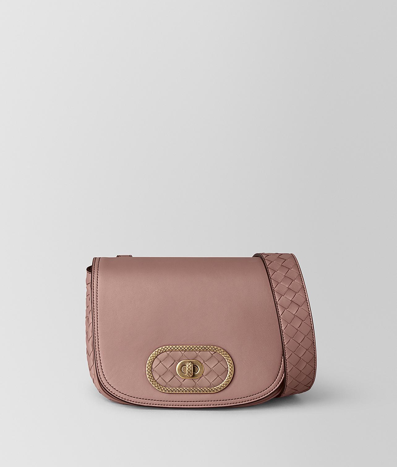 Lyst - Bottega Veneta Bv Luna Bag In Nappa in Pink 33c6d424caa14