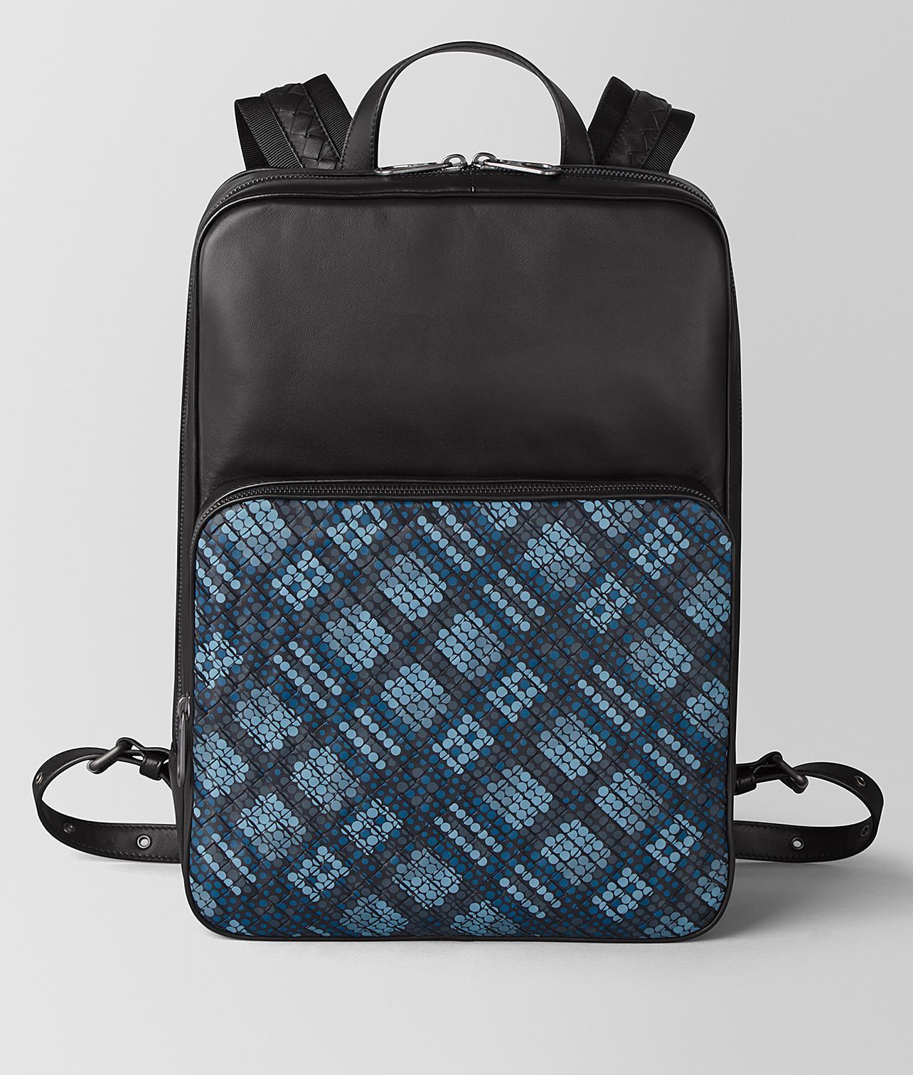 Lyst - Bottega Veneta Medium Double Brick Backpack In Tartan Dots in ... 9cb0c4fa47853