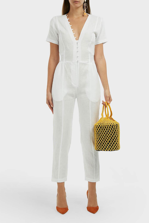 b8bdd3bcaae Sir. The Label Inaya Linen Jumpsuit - Lyst