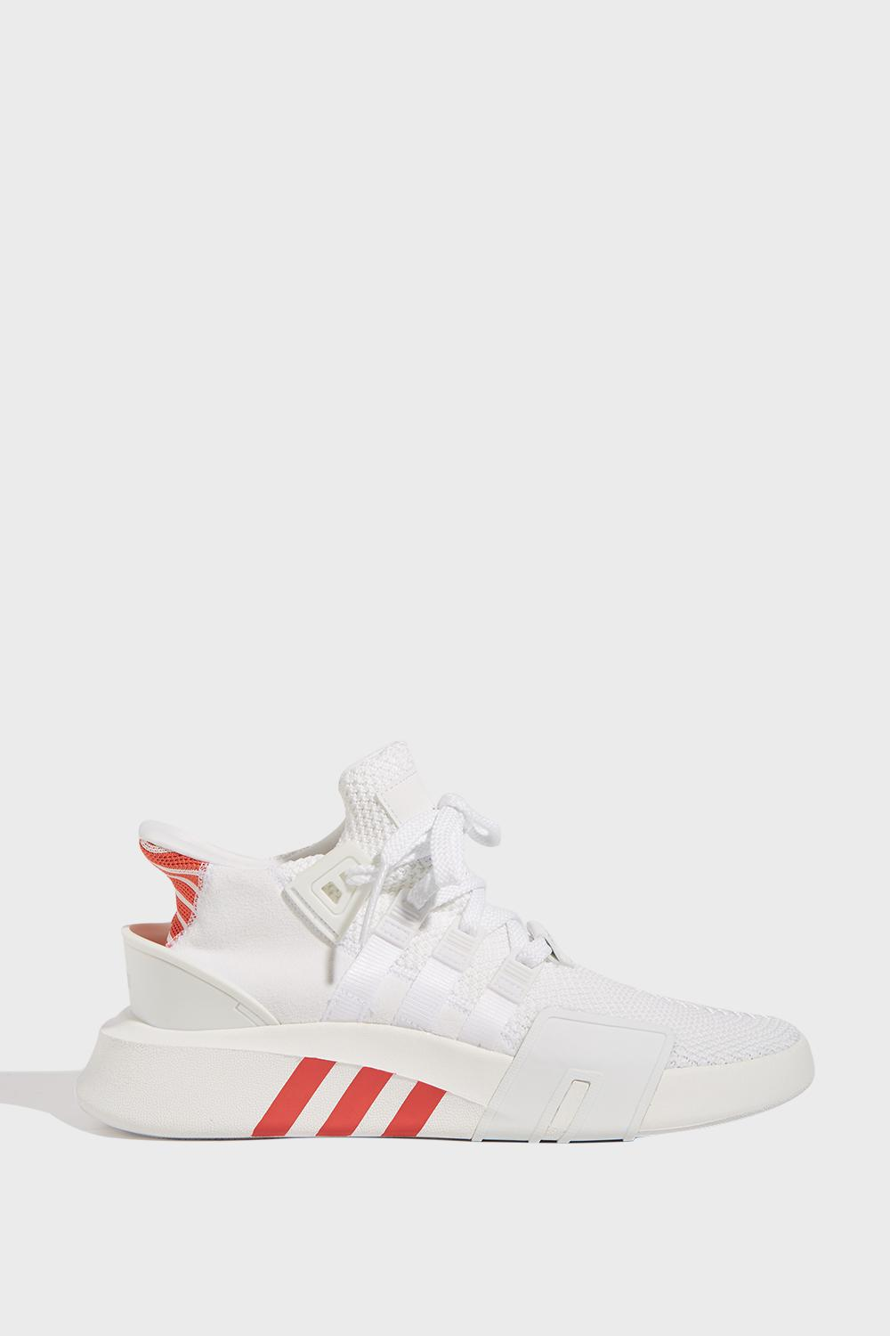 best sneakers a4267 90b16 adidas Originals. Mens White Eqt Basketball Adv Trainers