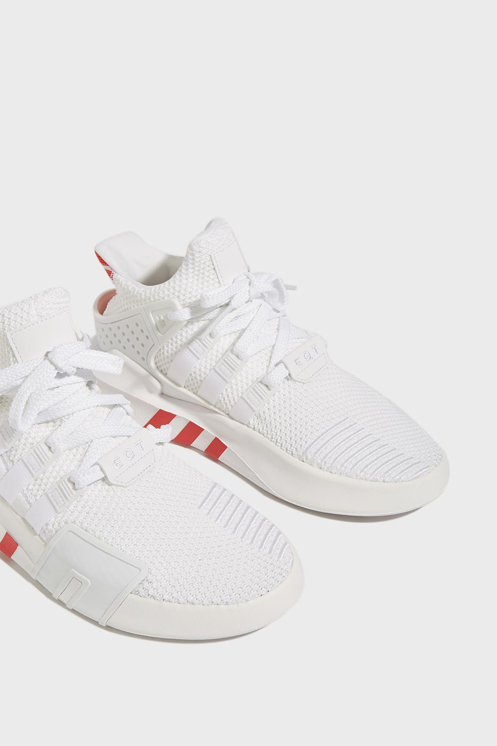 size 40 03138 f2994 Adidas Originals - White Eqt Basketball Adv Trainers for Men - Lyst. View  fullscreen