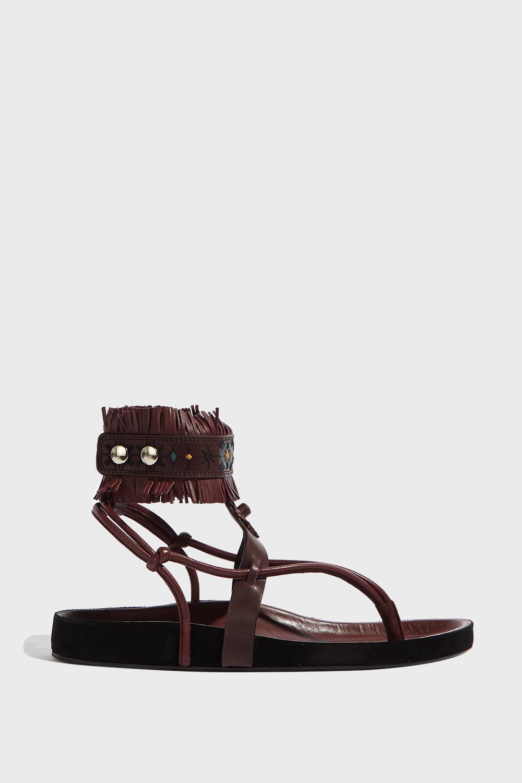 Eliby sandals - Red Isabel Marant ivi1KMmgjO