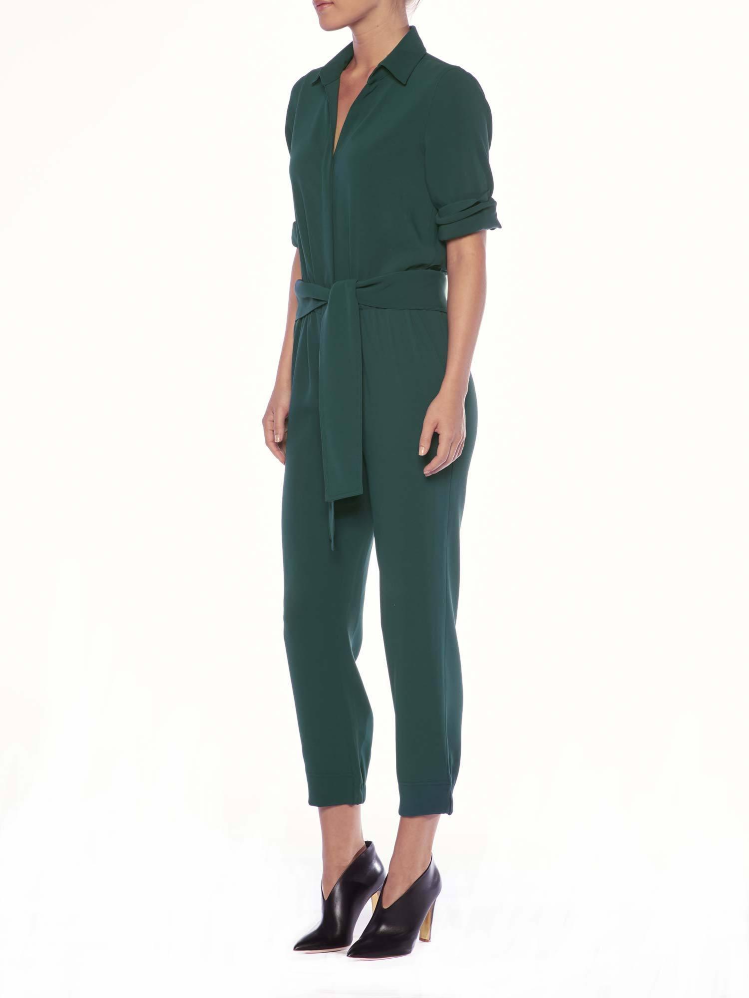 5f1cf8a00617 Lyst - Brochu Walker The Anze Jumpsuit in Green