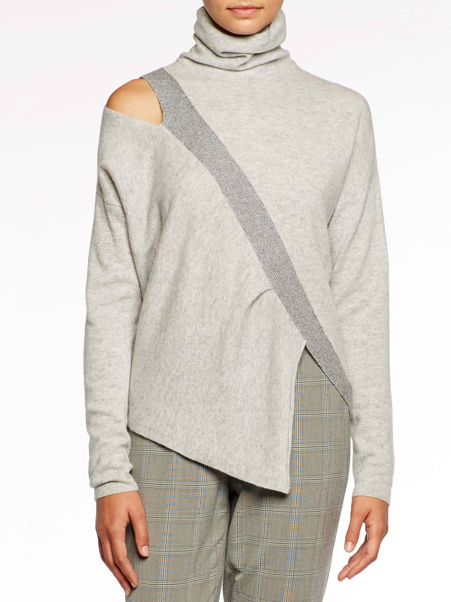 010c60783254c2 Brochu Walker. Women s The Fae Cut Shoulder Pullover