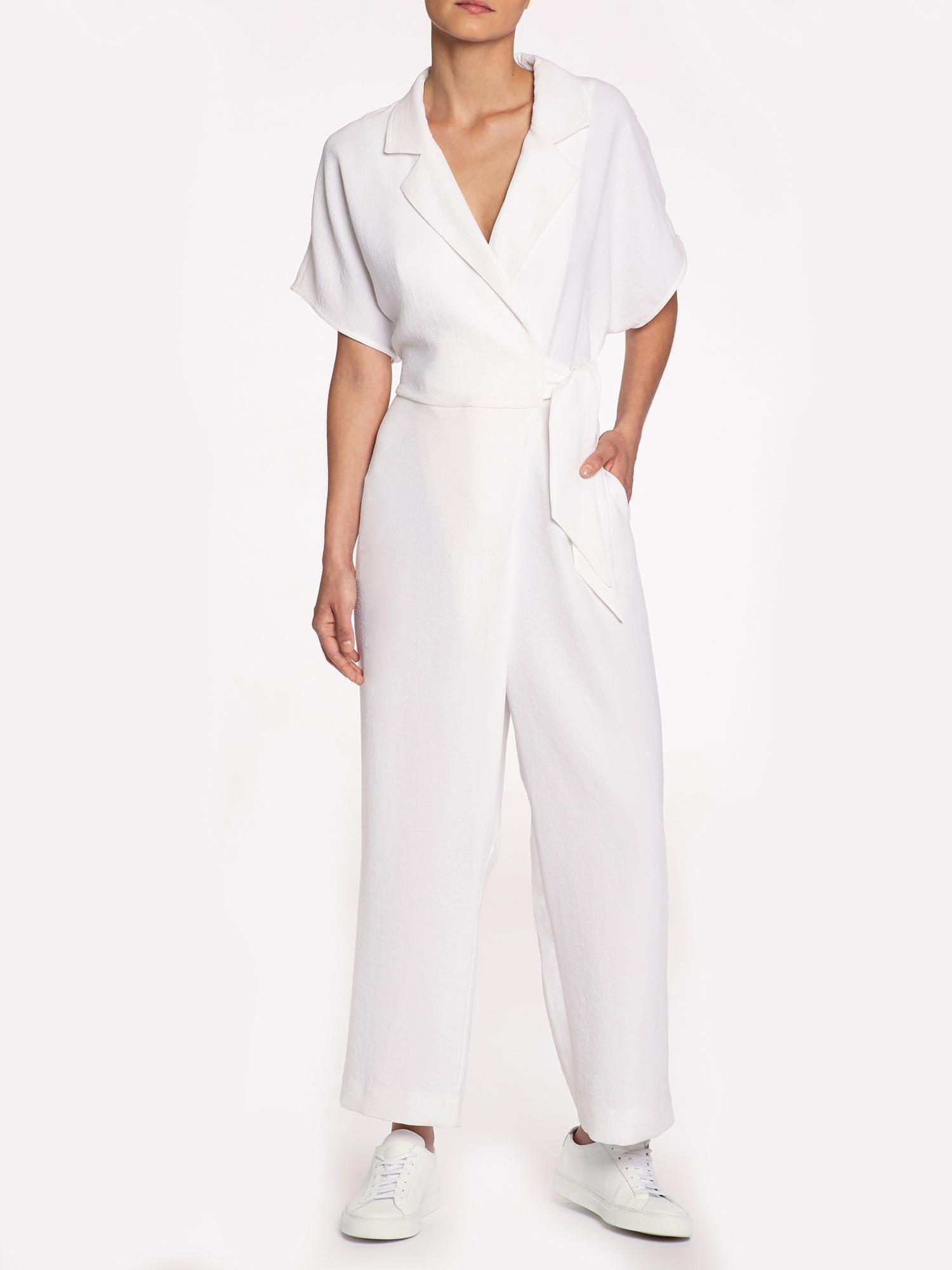 d19acf3060aa Lyst - Brochu Walker The Sheyla Jumpsuit in White